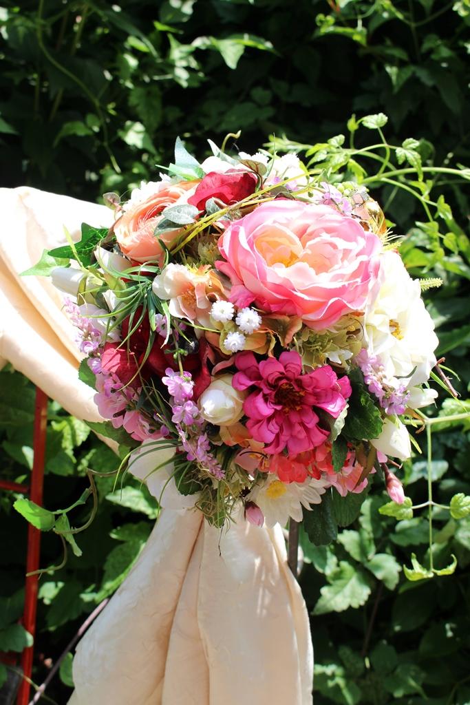Brautstrauß Seide