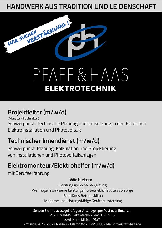 Elektro Haas und Pfaff
