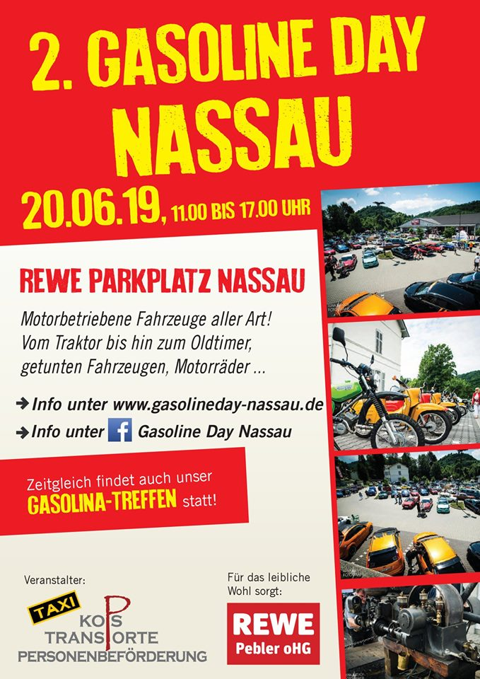 Gasoline Day Nassau