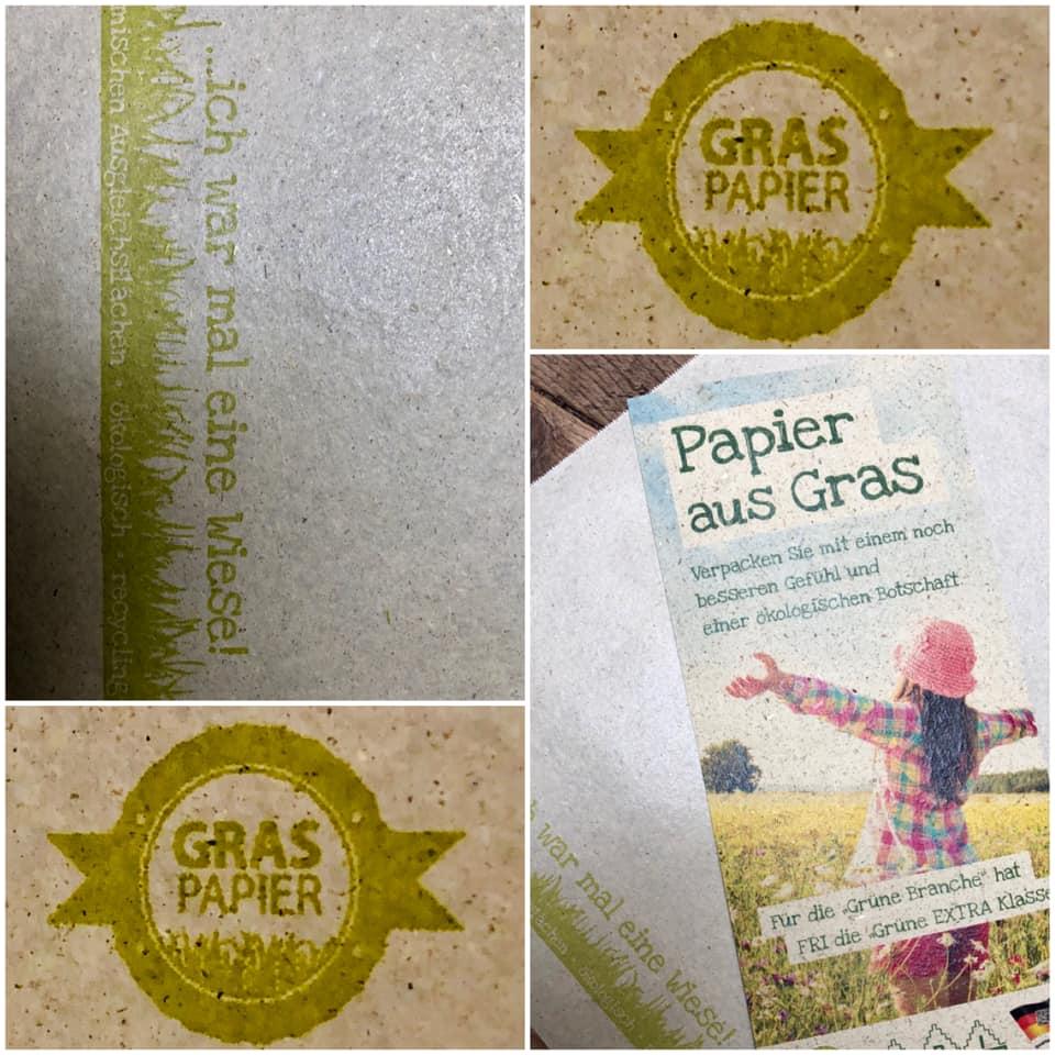 Graspapier, Proff florales Leben