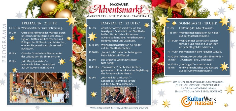 Adventsmarkt in Nassau