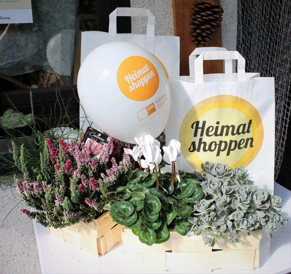 Sabine Merz, shopping, Heimatshoppen