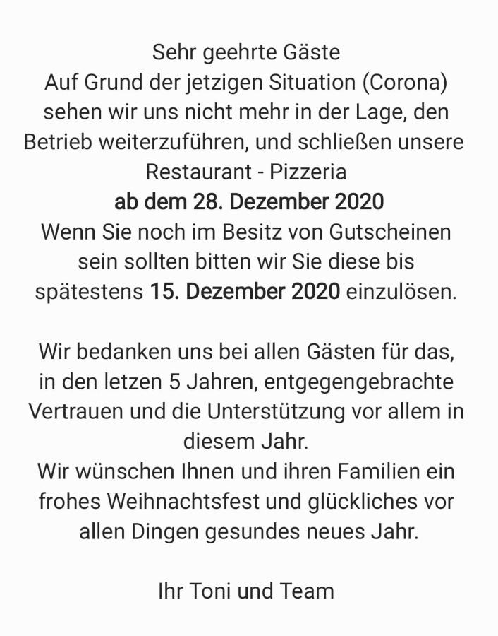 Pizzeria, Faustino Obernhof
