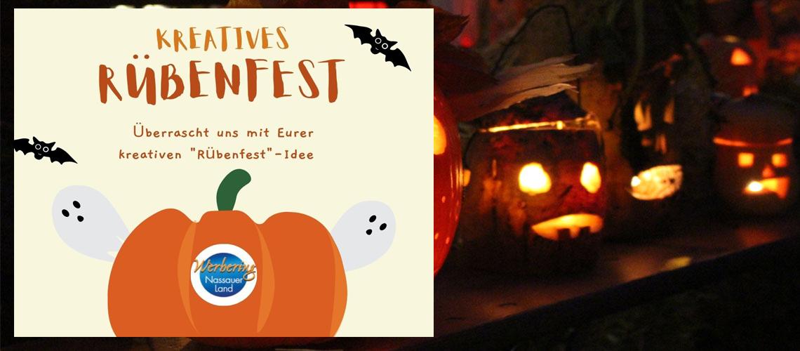 Werde kreativ für's Nassauer Rübenfest!